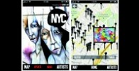 GEO STREET ART APP : LONDON & NYC