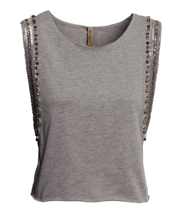 Cropped Top gris 1