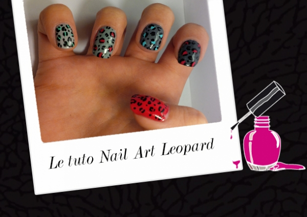 BEAUTY : LE TUTORIEL NAIL ART LEOPARD