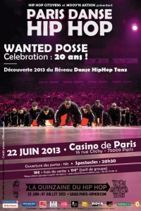 PARIS HIP HOP : LES WANTED POSSE OUVRENT LE BAL !