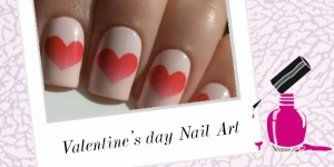 BEAUTY : TUTO NAIL ART SAINT VALENTIN