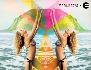 BILLABONG X MAYA HAYUK : UNE COLLECTION COLORÉE