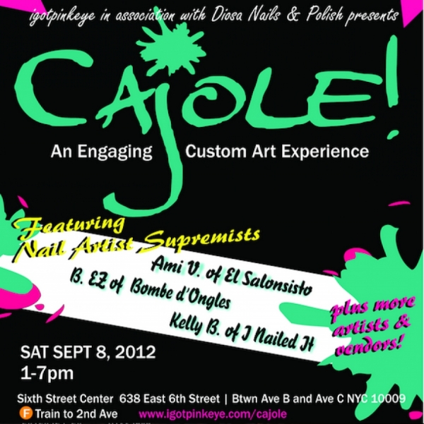 CAJOLE! EVENT @NEW YORK