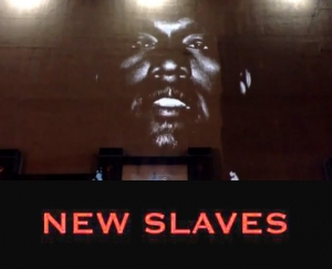 KANYE WEST - NEW SLAVES EN LIVE FROM L.A