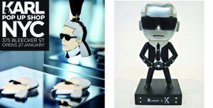 KARL LAGERFELD POP UP SHOP IN NYC