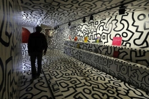 KEITH HARING S'EXPOSE EN GRAND À PARIS !