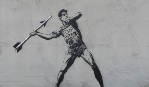 OLYMPIC ART BY BANKSY