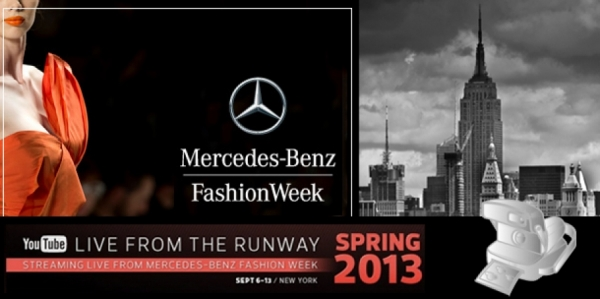 MERCEDES BENZ FASHION WEEK IN NYC // LIVE STREAMING!