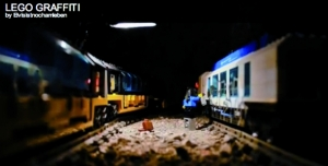 LEGO TRAIN GRAFFITI - VIDEO