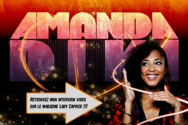 IINTERVIEW VIDEO : AMANDA DIVA SUR LADY CAPRICE TV