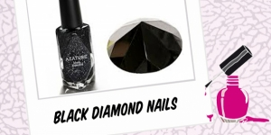 BEAUTY : AZATURE 'BLACK DIAMOND' NAIL POLISH