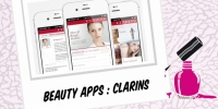 BEAUTY : CLARINS APP