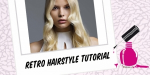 BEAUTY : VINTAGE HAIRSTYLE TUTORIAL