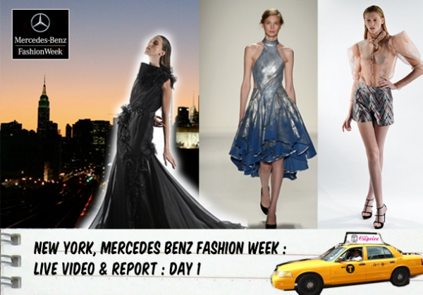 MERCEDES BENZ FASHION WEEK IN NYC - SPRING SUMMER 2014 : WATCH IT LIVE !!