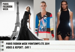 PARIS FASHION WEEK SS2014 : DAY 1
