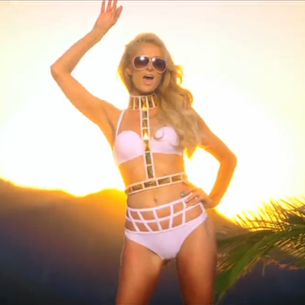 PARIS HILTON FT. LIL WAYNE - GOOD TIME (OFFICIAL VIDEO)