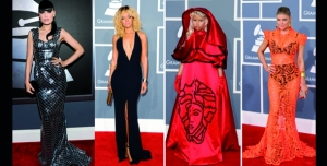 FASHION AND SHOWS : GRAMMYS AWARDS 2012