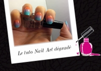 BEAUTY : TUTORIEL NAIL ART DÉGRADÉ