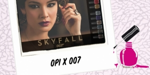 BEAUTY : OPI X SKYFALL 007