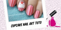 CUTE CUPCAKE NAIL ART TUTORIAL