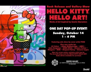 HELLO KITTY HELLO ART! BOOK RELEASE EVENT IN LOS ANGELES